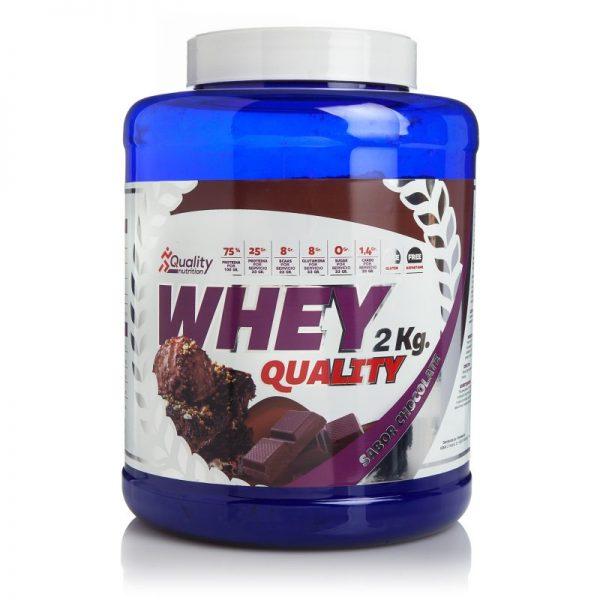 Proteínas whey chocolate 2kg